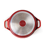 Сотейник Nice Cooker HELIOS Series HLO-52341 K-C (R) 24 см 24х6,5 см 2,4 л, фото 5