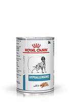 Royal Canin Hyppoallergenic влажный корм для собак при пищевой аллергии алиментарной природы