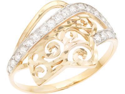 Золотое кольцо Атолл 10007А_175