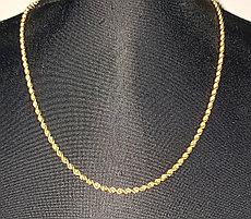 Золотая цепочка 55 см