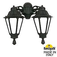 Уличный настенный светильник FUMAGALLI PORPORA/RUT DN E26.141.000.AXF1RDN