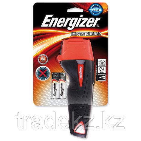 Фонарь компактный Energizer IMPACT 2x AA черно-красный, фото 2