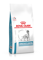 Сухой корм для собак страдающих аллергией алиментарной природы Royal Canin Sensitivity Control Canine (утка)