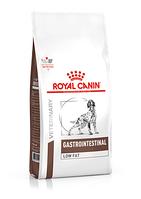 Royal Canin Gastrointestinal Low Fat сухой корм для собак страдающих острым панкреатитом