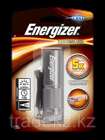 Фонарь компактный Energizer Metal light 3xААА, фото 2