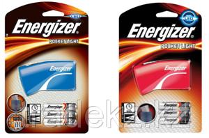 Фонарь компактный Energizer Pocket 3x AAA красный