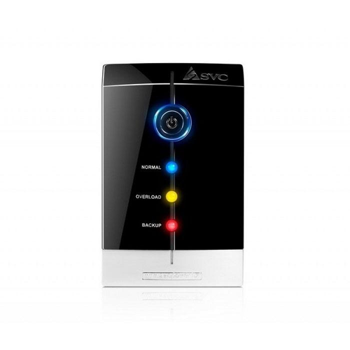 UPS SVC V-1000-F (Источник бесперебойного питания,  SVC, V-1000-F, Smart, USB, Мощность 1000ВА/600Вт, Диапазон