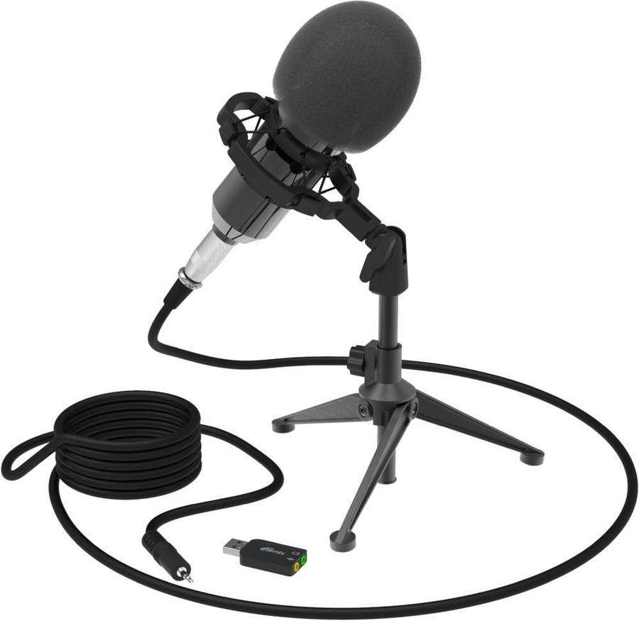 Студийный микрофон RITMIX RDM-160 (Black)