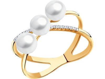 Золотое кольцо SOKOLOV 791121_175