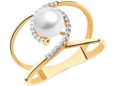 Золотое кольцо SOKOLOV 791114_185