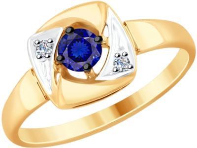 Золотое кольцо SOKOLOV 6012130_16