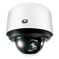 SP EH7 4K 18X IND DOME WHT SMK