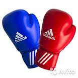 Боксерские перчатки (синий), фото 3