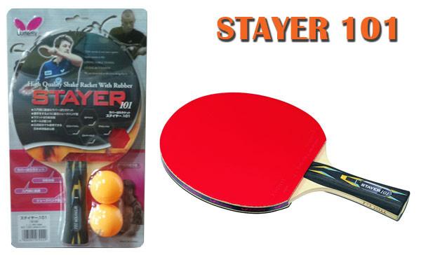 Ракетка для настольного тенниса butterfly stayer 101