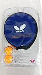 Ракетка для настольного тенниса butterfly stayer 101, фото 4