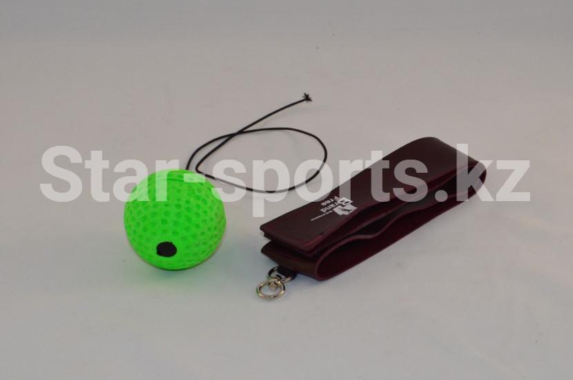 Тренажер теннисный мяч на голову для бокса на резинке