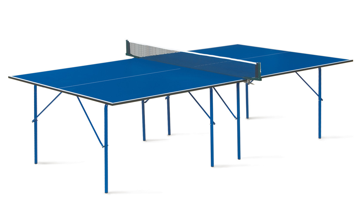 Теннисный стол Hobby 2 - любительский стол для использования в помещениях