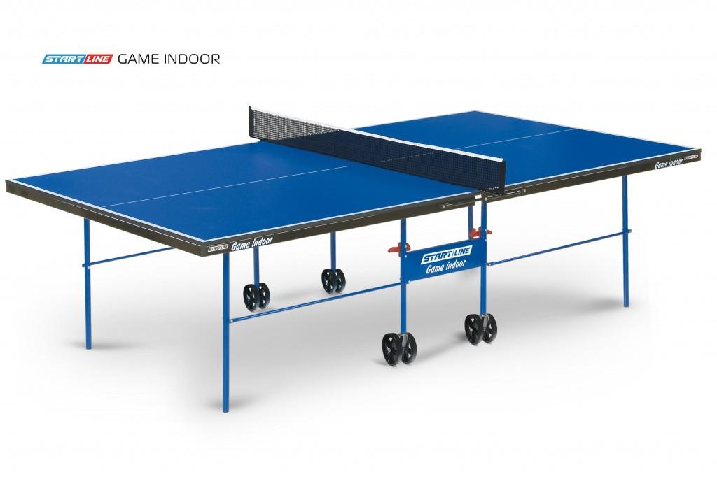 Теннисный стол Game Indoor - любительский стол для использования в помещениях