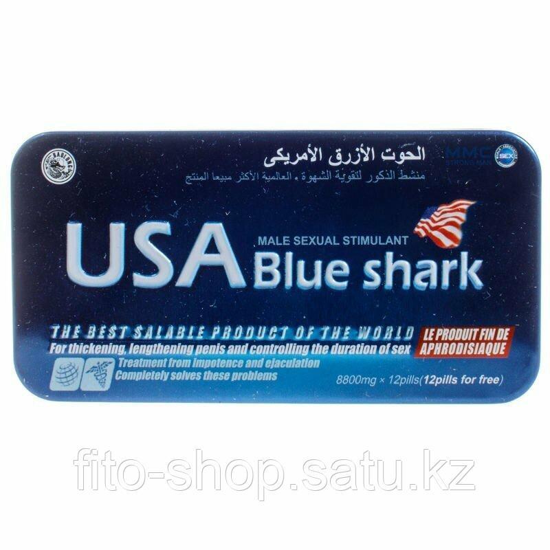 Препарат для потенции USA Blue Shark 12 шт