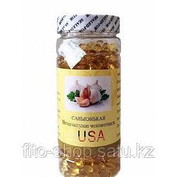 Мягкая капсула из чесночного масла Саньвэнькан (500 капсул)