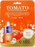 Маска для лица тканевая с экстрактом томата