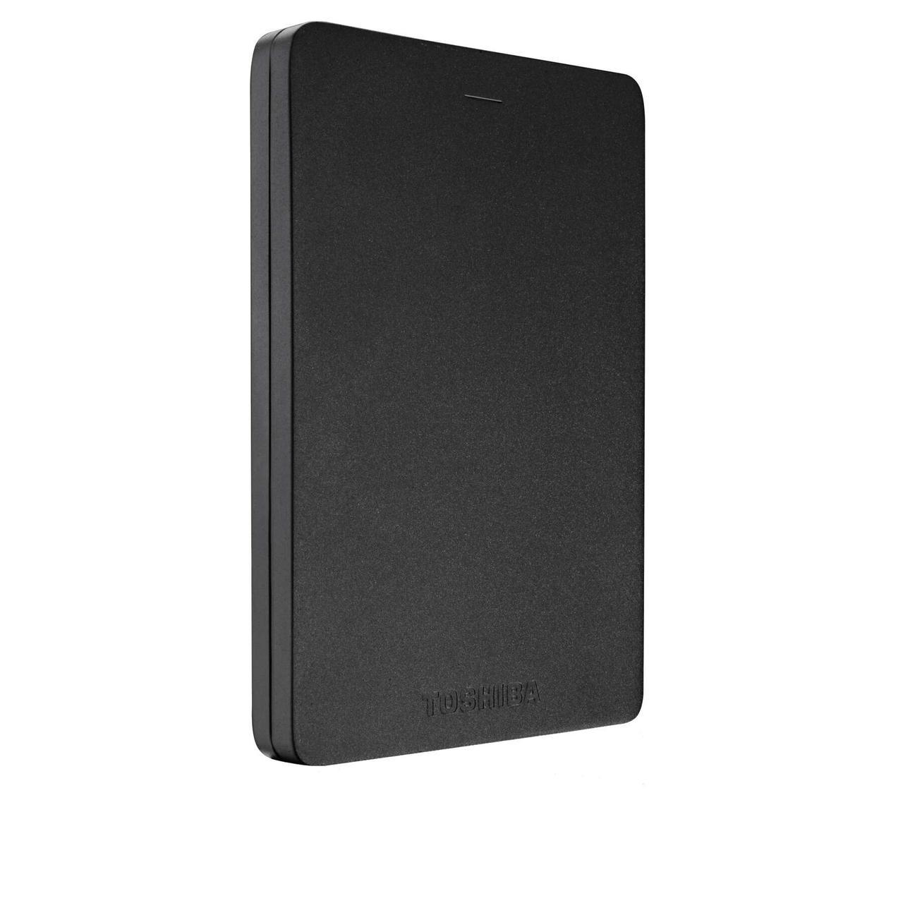 "Внешний жесткий диск Toshiba Canvio Alu 500ГБ 2.5""  Black (HDTH305EK3AB)"