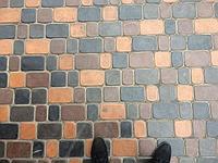 Мелкая тротуарная плитка