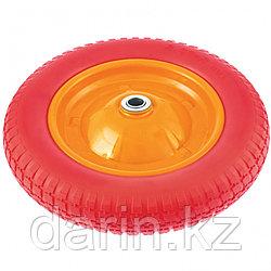 Колесо полиуретановое 3.00-8, длина оси 90 мм, подшипник 20 мм PalisaD