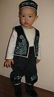 Национальный костюм для девочек и мальчиков годовалого возраста, для обряда «Тұсаукесер».