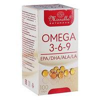 Капсулы Mirrolla Омега 3-6-9, 100 капсул по 370 мг
