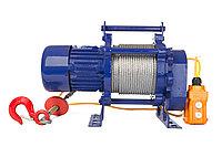 Лебедка электрическая с канатом 30м TOR ЛЭК-300 E21 (KCD) 300 КГ, 380 В