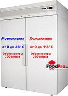 Холодильный шкаф комбинированный Polair CC214-S, фото 1