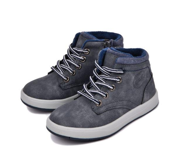Осенние ботинки, цвет серый, 28,30,31