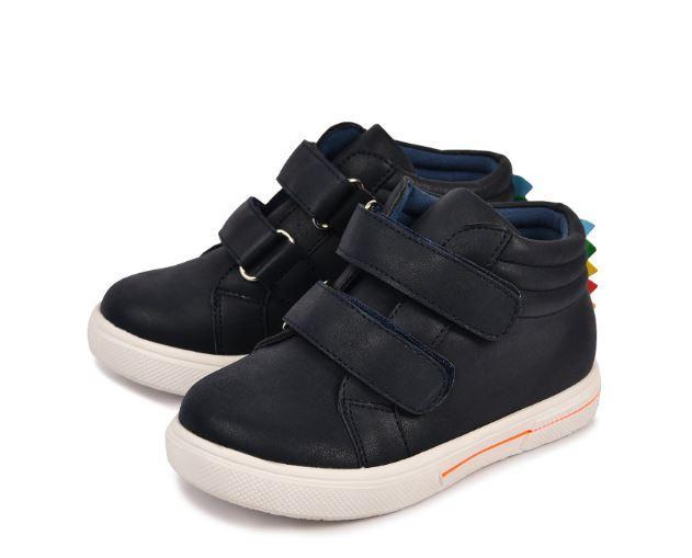 Осенние ботинки, цвет синий, 23 размер