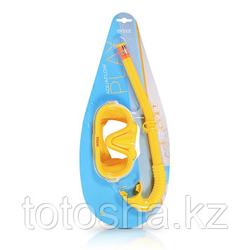 Набор для плавания : маска и трубка 8+ , Intex 55642
