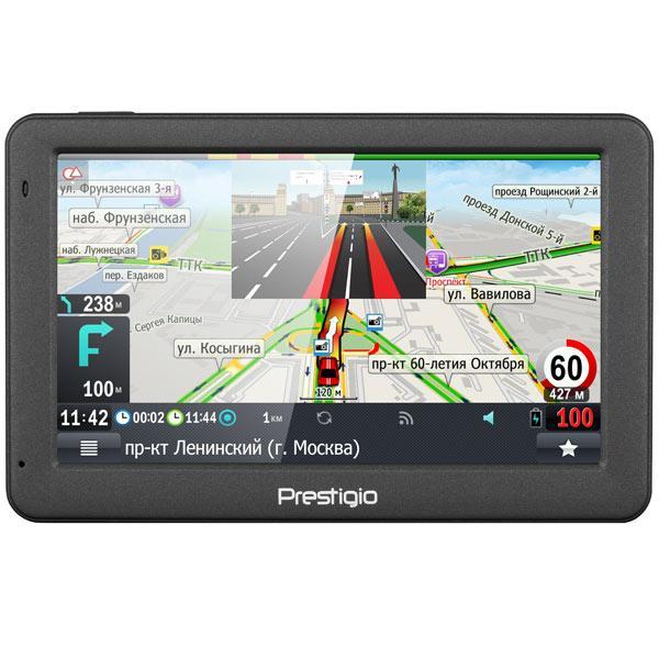 Портативный GPS-навигатор Prestigio GeoVision 5059 (PGPS5059CIS04GBPG)