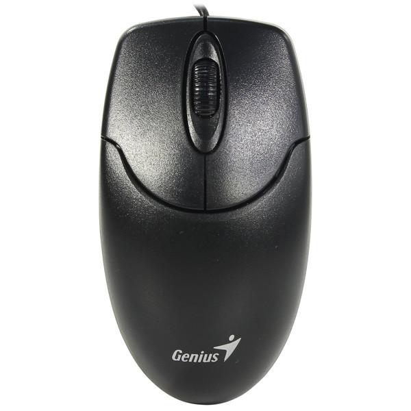 Мышь проводная Genius NetScroll 120/V2 USB (Black)