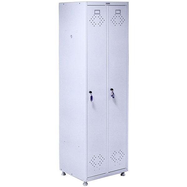 Медицинский шкаф МД 2 ШМ-SS для одежды.