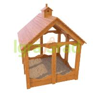 Детские деревянные песочницы