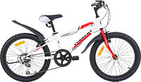 """Велосипед подростковый Torrent Totem (7 скоростей, колеса 20д, рама сталь 10,5"""", Red-White)"""
