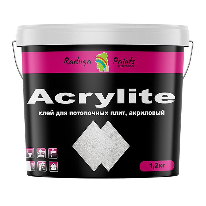 Клей для галтелей и потолочных плит Acrylite