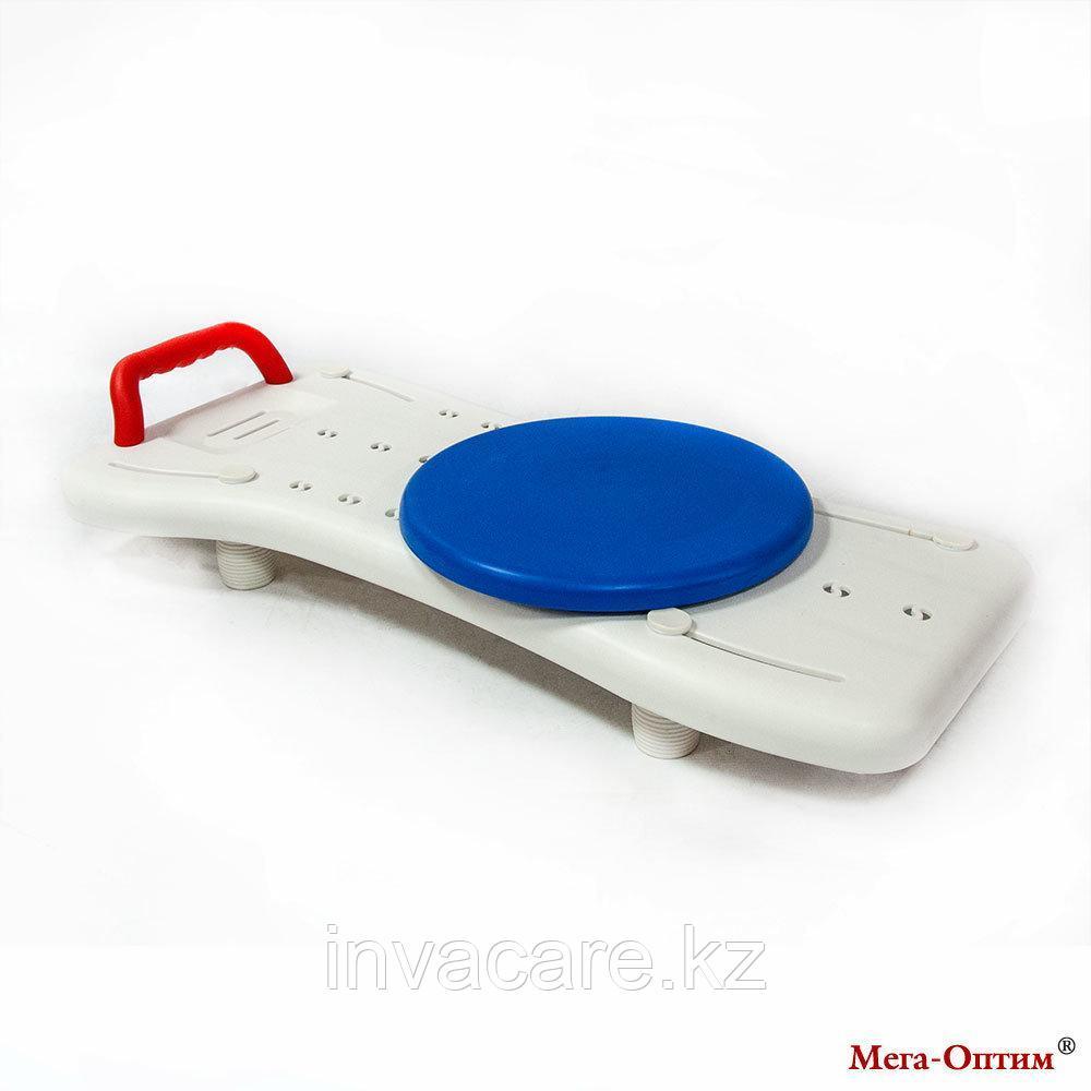 Сиденье на ванну с поручнем c поворотным диском SC 6045C-L