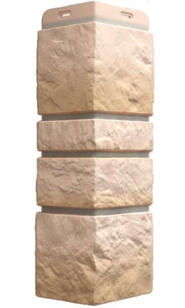Угол Наружный BURG Дёке Песчаный 445х195х148 мм