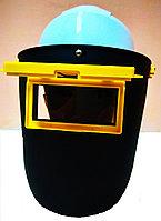 Щиток защитный для сварщиков с креплением на каску, фото 1