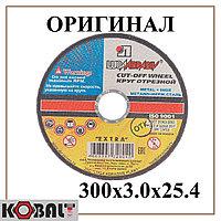Диск отрезной по металлу LUGA ABRASIV 300x3.0x25.4 mm