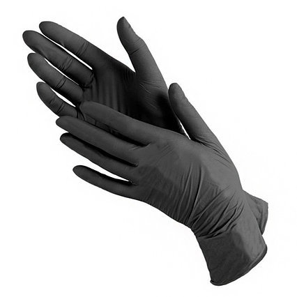 Перчатки нитриловые NITRIMAX (чёрные)