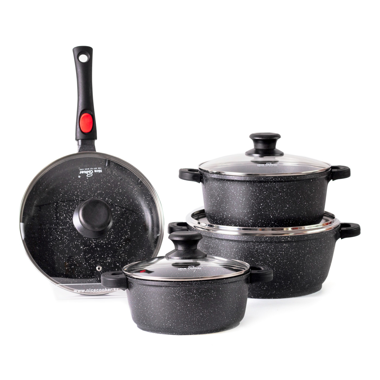 Набор посуды Nice Cooker Classic Series CAK-8T 8 предметов