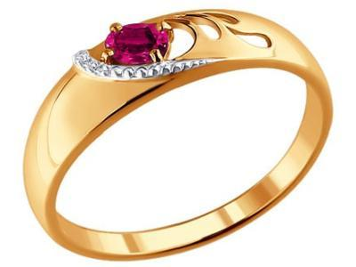 Золотое кольцо SOKOLOV 4010595_18