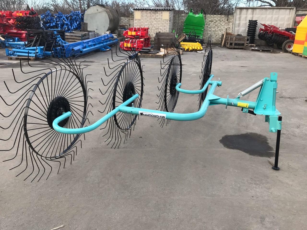 Грабли-ворошилки типа OGR 4х колесные (Россия)
