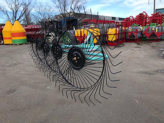 Грабли-ворошилки типа OGR 4х колесные (Россия), фото 2